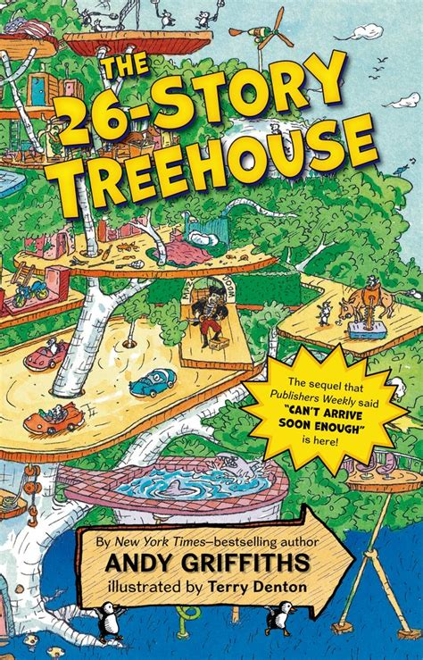 The Tree House Stories the 26 story treehouse by andy griffiths librarina