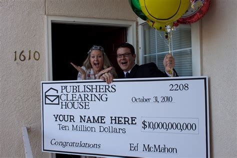 Ed Mcmahon Publishers Clearing House by Reber Publishers Clearing House Winner