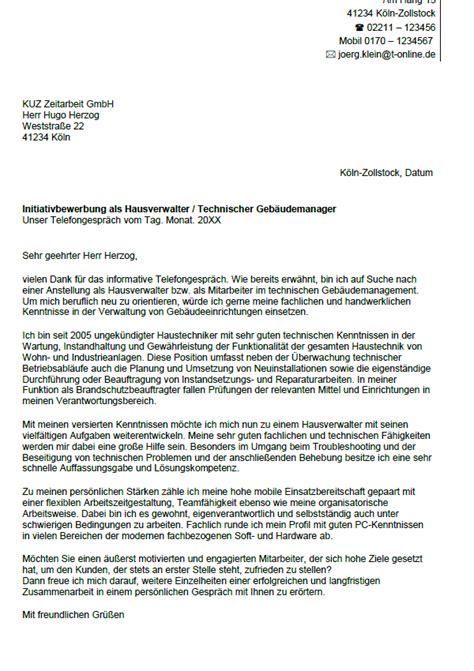 Lebenslauf Vorlage Hausmeister Bewerbung Hausverwalter Berufseinsteiger Sofort