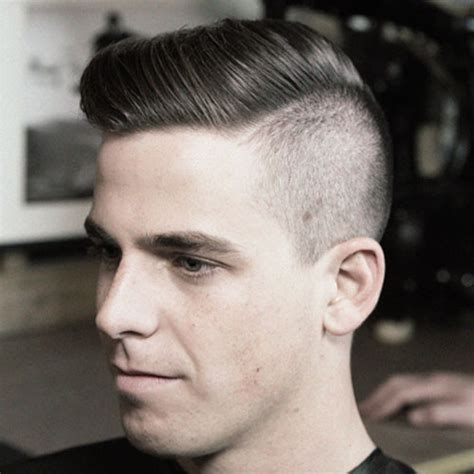 comb over under cut style undercut hairstyle for oval face