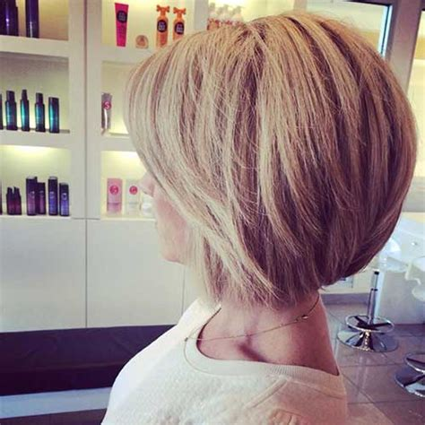 back viewsconcave bob hairstyles for fine hair 15 best back view of bob haircuts short hairstyles 2017