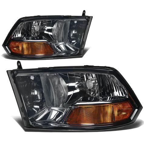 smoked dodge ram headlights 09 15 dodge ram 1500 2500 3500 headlights