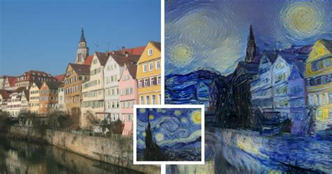 painting for the computer new neural algorithm can paint photos in style of any