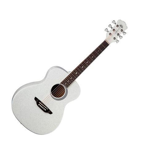 imagenes guitarras blancas luna aurora borealis 3 4 guitar white at gear4music com