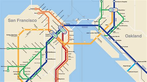 bart san francisco map this 2050 bay area bart metro map is everything curbed sf