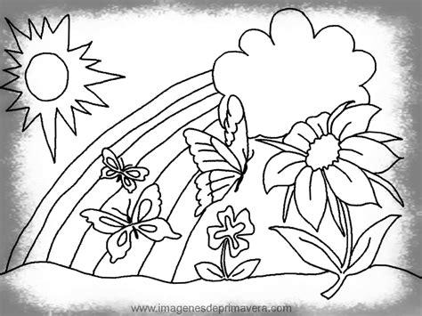 im 225 genes de paisajes im 225 genes y fotos dibujos para colorear tema primavera dibujos de
