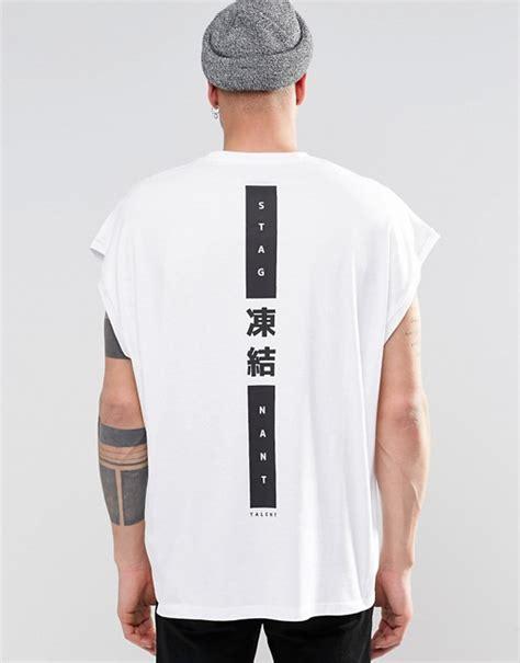 design t shirt store graniph tokyo asos asos super oversized sleeveless t shirt with