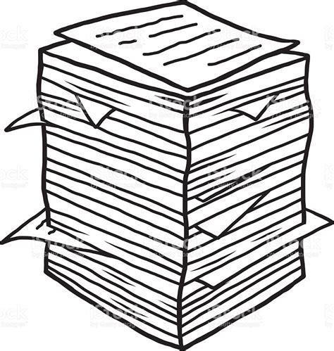 documents clipart pile of documents clipart clipartfest