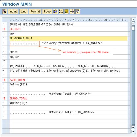 tutorial on sap scripts saptechnical com printing total carry forward amount