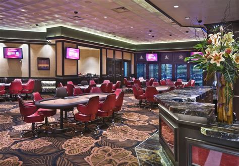 visiting   poker room