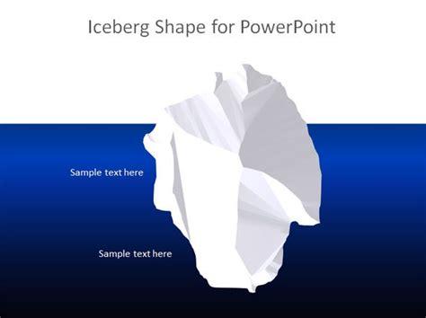 free iceberg powerpoint template