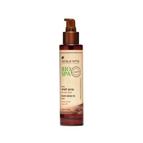 Serum Bio Spray hair serum drops enriched with argan sea of spa