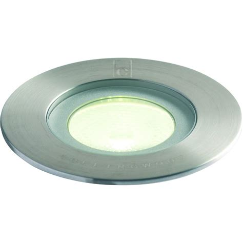 led ground lights outdoor collingwood lighting gl016 f white stainless steel led