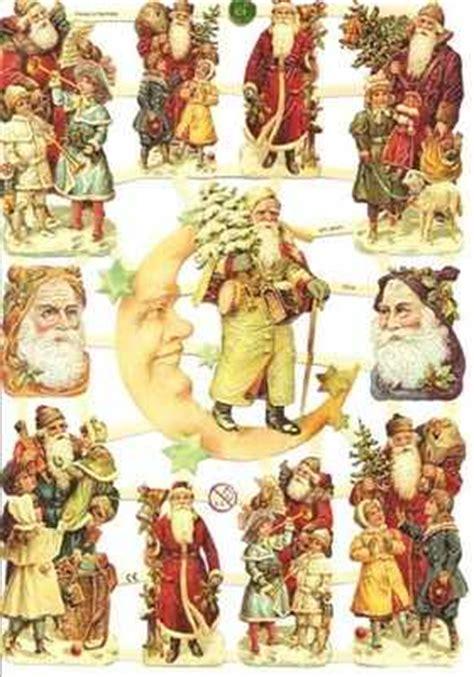 7314 santa claus father christmas victorian