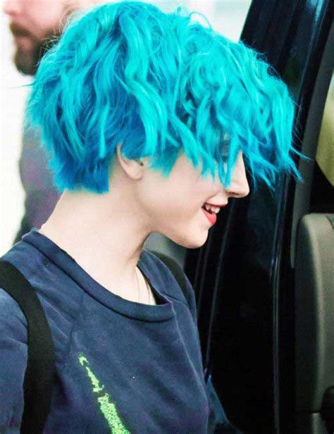 Blue New Hairstyle by 10 New Blue Pixie Cut Hairstyles 2017 2018