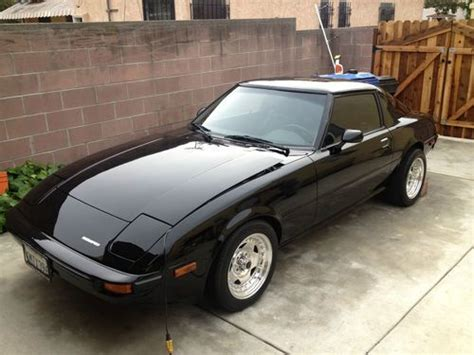 hayes car manuals 1985 mazda rx 7 seat position control find new 1985 turbo mazda rx 7 gs coupe 2 door 1 1l in los angeles california united states