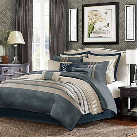 super king comforter buy sellick 12 piece king comforter super set in blue from