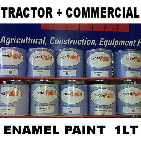 Harga Lt Pro Yellow Orange tractor machinery enamel paint kubota orange 1lt ebay