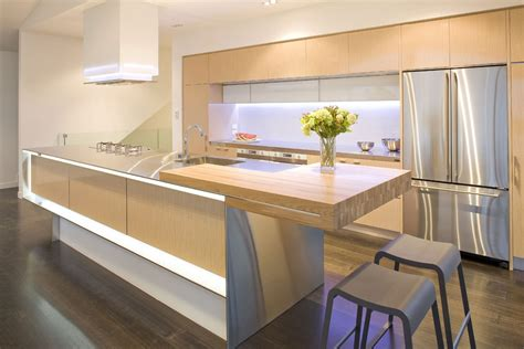 contemporary kitchen natural wood modern kitchen interior design ideas