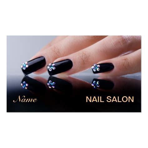 business card templates for nail salon nail salon business card zazzle