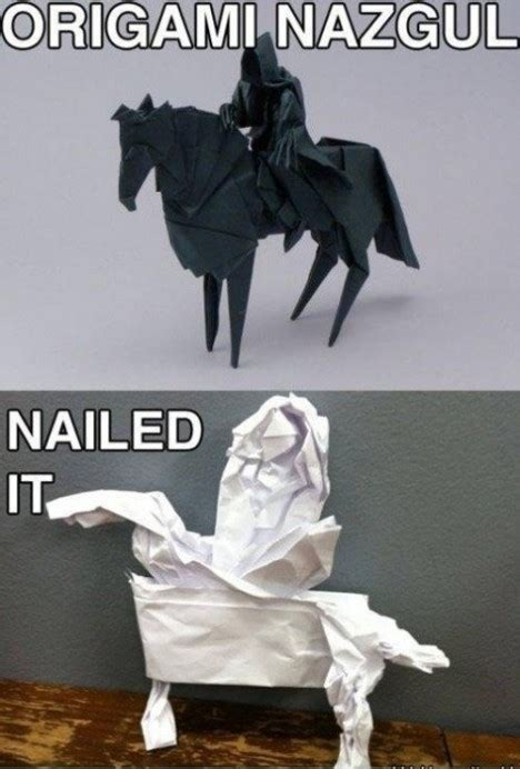 Origami Nazgul - 1000 images about nailed it on bread