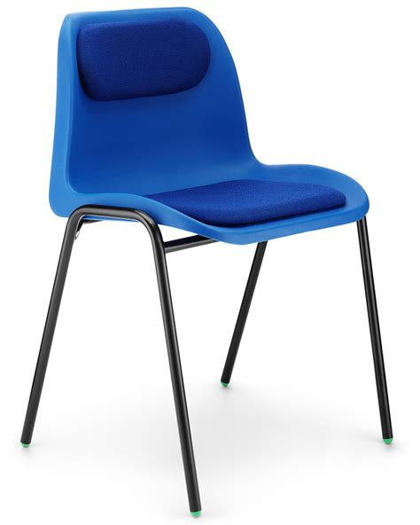 affinity upholstered stacking chair