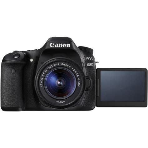 Kamera Canon Dslr 18 55mm canon eos 80d slr digitalkamera mit ef s 18 55mm f 3 5 5 6