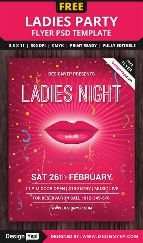 party event flyer psd templates designyep