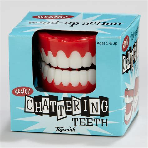 teeth chattering chattering teeth world market