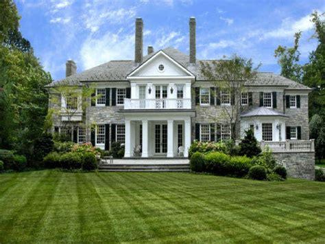 Estate of the Day: $8.2 Million Georgian Estate in Greenwich, Connecticut