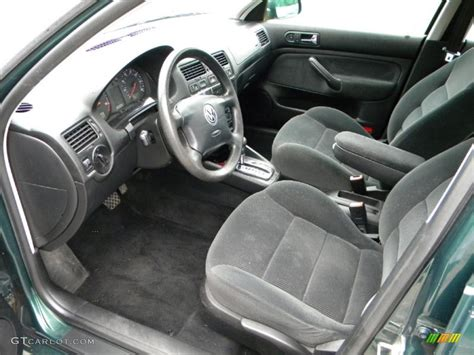 Volkswagen Jetta 2001 Interior black interior 2001 volkswagen jetta gls tdi sedan photo 40636122 gtcarlot