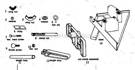 Craftsman 3216mitresquare Parts List And Diagram