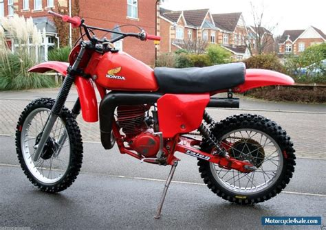 honda motocross bikes for sale 1979 honda cr 250 for sale in united kingdom