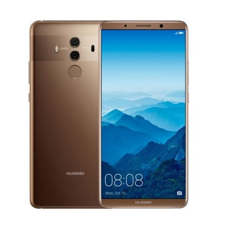Huawei Mate 10 Pro Mocha Brown Bnib Garansi 1 Tahun huawei mate 10 pro dual sim bla 29 128gb mocha brown deals special offers expansys new