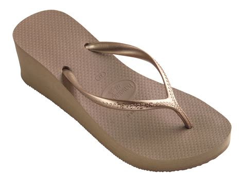 Havaianas Flip flops   High Fashion Rose Gold