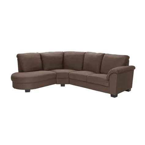 Ikea Tidafors by Tidafors Corner Sofa With Arm Right Dansbo Medium Brown