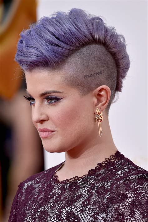 how do i style osbournes hairstyle kelly osbourne see every dazzling hair and makeup look