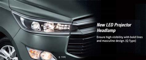 Lu Led Depan Mobil all new kijang innova terbaru 2018 spesifikasi harga
