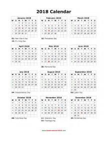 Calendar For Year 2018 Australia 2018 Calendar Canada Weekly Calendar Template