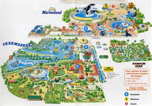 marineland canada map marineland niagara falls map pictures to pin on