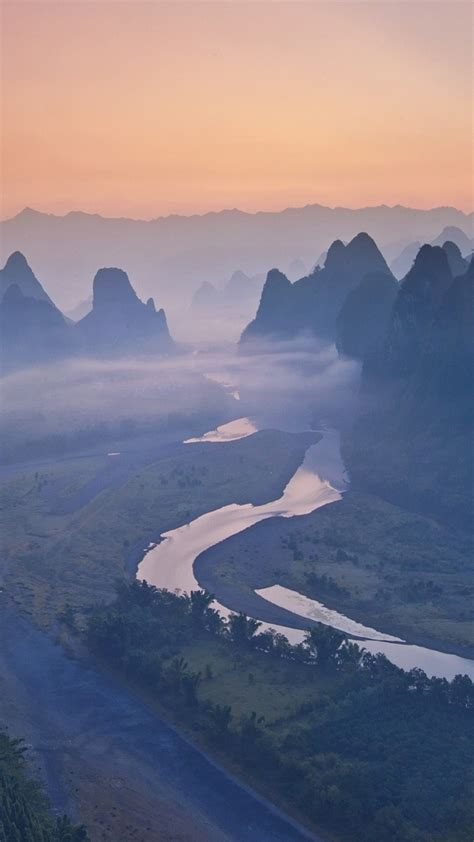 river mountains sunrise iphone wallpaper iphoneswallpaperscom iphone wallpapers