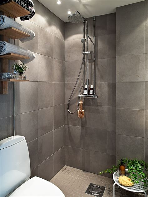 Open Shower Small Bathroom Open Shower Interior Design Ideas