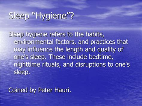 these are our sleep habits sciencenordic ppt sleep hygiene good sleep habits powerpoint