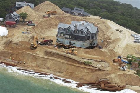 Chappaquiddick House Move House Move Saving A Luxury Home From Erosion Jlc Engineering Foundation