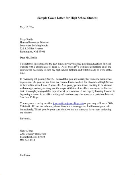 cover letter for part time student cover letter for part time after retirement cover letter