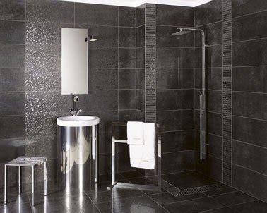 Ordinaire Listel Salle De Bain Castorama #3: carrelage-salle-de-bain-en-gres-cerame-emaille-gris.jpg