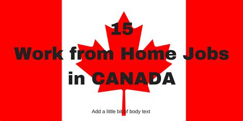 Working Online From Home In Canada - canada work from home archives real work from home jobs by rat race rebellion