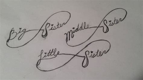 small sister tattoo ideas 2 designs