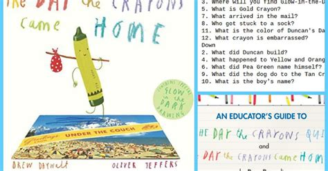 The Day The Crayons Came Home the day the crayons came home pdf activities book review