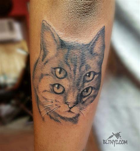 animal portrait tattoo cat portrait by nasa